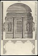Design for a Corinthian Hall, in The Architecture of A. Palladio in Four Books containing a Short Treatise on the Five Orders (L'Architecture de A. Palladio en quatre livres... / Il quattro libri dell'architettura) (Volume 1, book 2, plate 28)