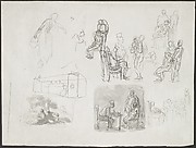 Figure Studies, Including Scenes of Interrogation