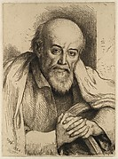 Portrait of Samuel Palmer