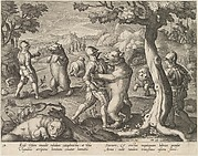 Bear Hunt, from the series Venationes Ferarum, Avium, Piscium...