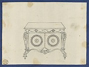 French Commode, from Chippendale Drawings, Vol. II