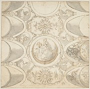 Design for Ceiling with Allegorical Figure of Astronomy.