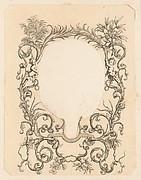 Ornamental Frame with Garlands