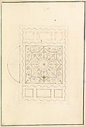 Design for Ceiling of Ladies' Dressing Room at the Pantheon, Oxford Street, London