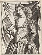 Habiti delle Donne Venetiane Intagliate in Rame