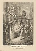 Gravures de Boucher pour les Oeuvres de Molière [Figures de Boucher pour Molière]