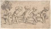 Five Dancing Putti