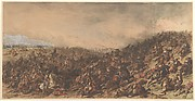Battle Scene (Waterloo)