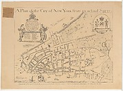A Plan of the City of New York from an Actual Survey Made by James Lyne, 1728