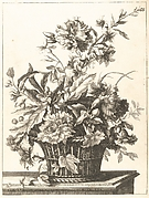 Upright Baskets of Flowers