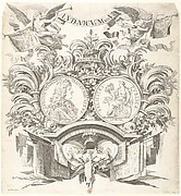 Allegorical Medal in Honor of Louis XIV