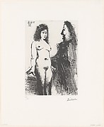 Young Prostitute and Musketeer, from 347 Suite