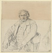 Study for the Portrait of Louis-François Bertin (1766-1841)