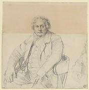 Study for the Portrait of Louis-François Bertin (1766-1841)