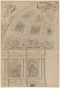 Design for the Decoration of the Semi-Dome of a Church Apse.