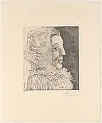 Bust of a Woman with a Kerchief