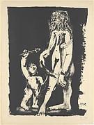Venus and Cupid, after Cranach (Vénus et l'amour d'après Cranach)