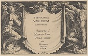 Title to Topographia Variarum Regionum