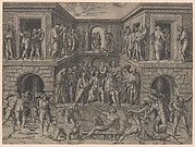 The Martyrdom of St Lawrence after Bandinelli