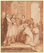 Scene One from the Life of the Reverend Jean de la Barrière