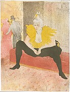 The Seated Clowness (Mademoiselle Cha-u-ka-o) (from the series Elles)
