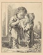 Les Petits Buveurs de lait (The Little Milk Drinkers), from Suite d'estampes gravées par madame la marquise de Pompadour d'après les pierres gravées de Guay, graveur du Roi