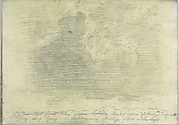 A Cloudy Sky (Smaller Italian Sketchbook, leaf 14 recto)