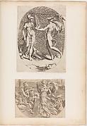 Mercury Presenting a Panpipe to Minerva