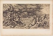 Neptune Calming the Tempest Raised Against the Fleet of Aeneas
