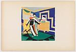 Plate 1 from Sonia Delaunay: ses peintures, ses objets, ses tissus simultanés, ses modes
