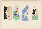 Plate 2 from Sonia Delaunay: ses peintures, ses objets, ses tissus simultanés, ses modes