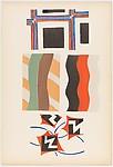 Plate 19 from Sonia Delaunay: ses peintures, ses objets, ses tissus simultanés, ses modes
