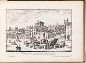 Fontana nella Piazza della Trinita de Monti (...). From 'La Fontane di Roma nelle Piazze e Luoghi Publici (...)'.