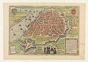 View of Antwerp from Braun and Hogenberg's Civitates Orbis Terrarum