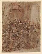 Saint John the Baptist before Herod and Herodias