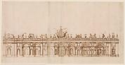 Design after a Fountain in the Villa Aldobrandini at Frascati.