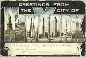 Greetings from the City of New York Postcard