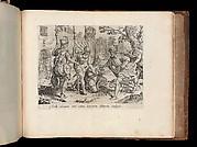 The Servant Sending his Fellow Servant to Prison, from The Parable of the Unmerciful Servant, bound in Thesaurus Sacrarum historiarum Veteris et Novi Testamenti