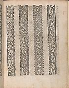Modelbuch aller Art Nehens vn Stickens (Page 8r)