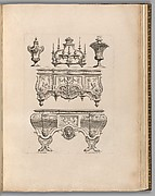 Plate from Ornament Designs Invented by J. Berain (page 71)
