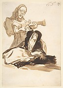 A Nun Frightened by a Ghost; Images of Spain Album, 65