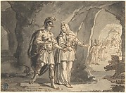 Aeneas and the Sibyl in the Underworld