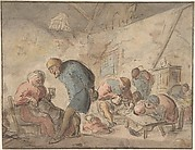 Peasants Drinking