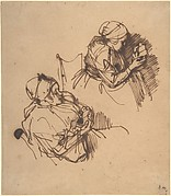 Two Studies of a Woman Reading