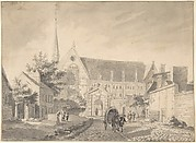 View of the Church of Passy, near Paris