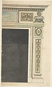 Design for a Chimneypiece, possibly for Melbourne House (now Albany), Piccadilly, London