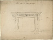 Design for a Chimneypiece for Somerset House, Strand, London