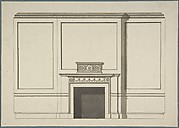 Design for a Chimneypiece in the Garden Hall, Manresa House, Roehampton, Surrey