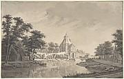 A View of the Wittevrouwenpoort, Utrecht
