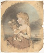 Child Holding a Doll